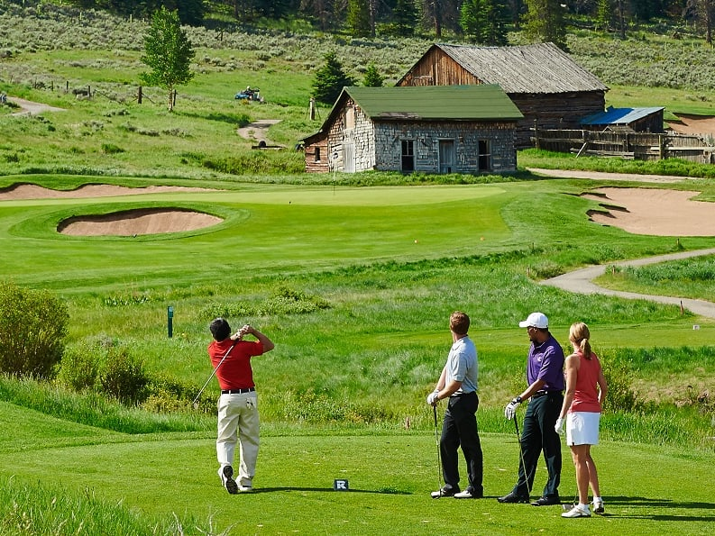 Golf Keystone Ski Resort