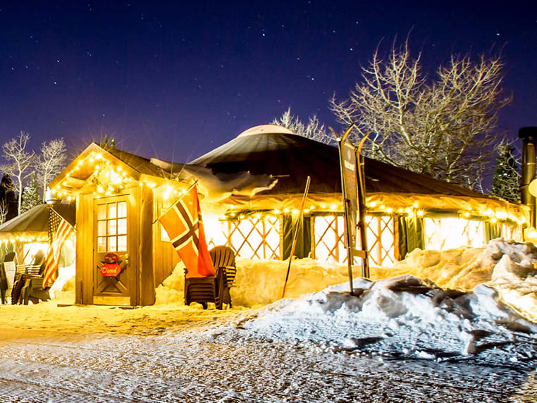 Viking Yurt Park City Mountain Resort Overnights are limited to select friday and saturday. viking yurt park city mountain resort