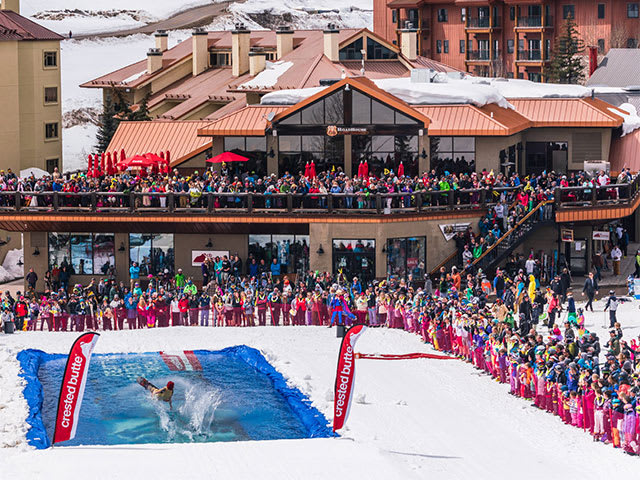 Crested Butte Pond Skim