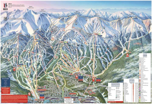Trail Map | Breckenridge Resort