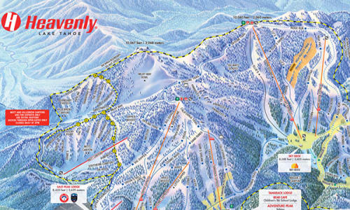 Trail map heavenly ski resort view map gumiabroncs Images