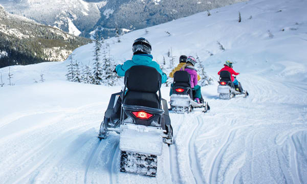 Snowmobile - The Adventure Group