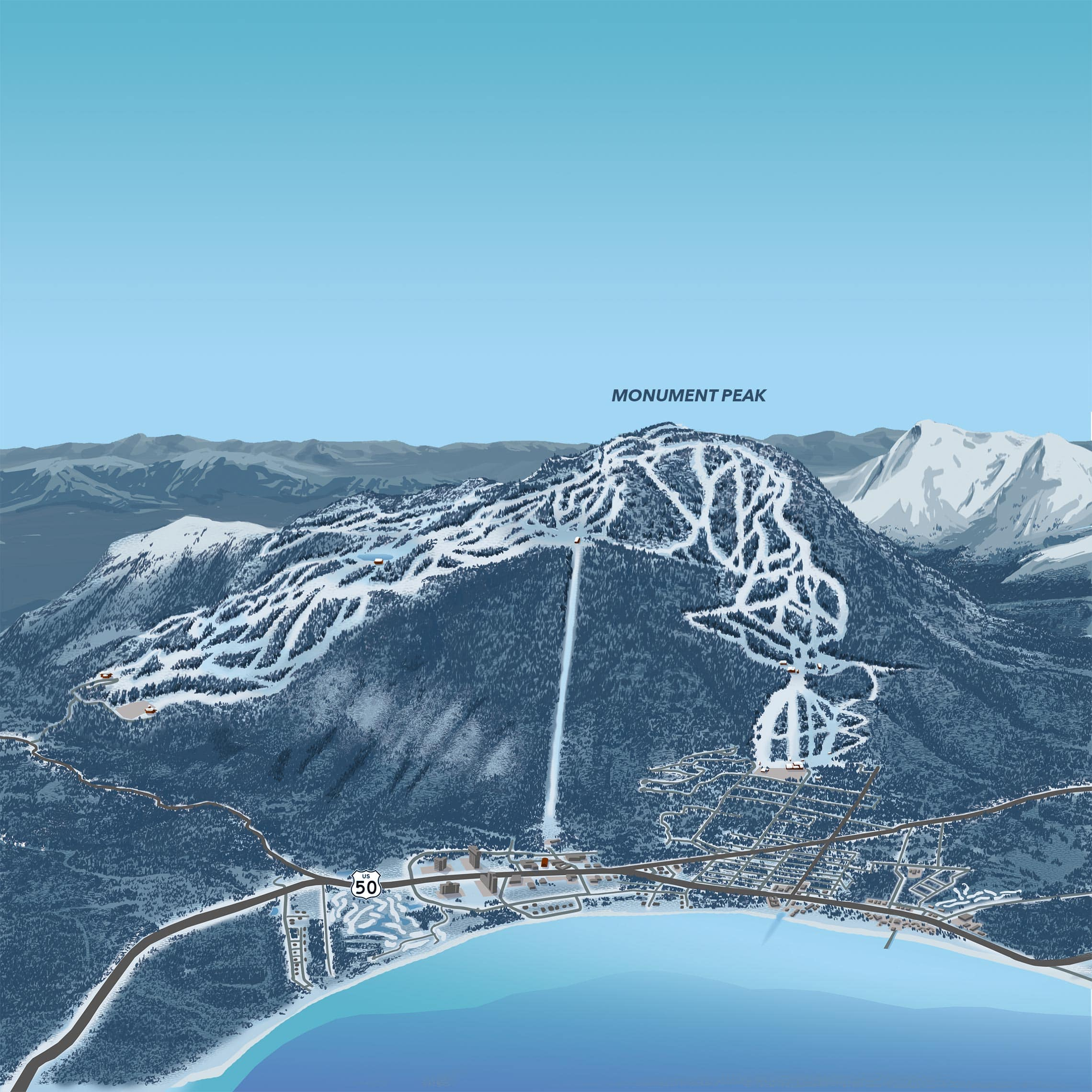 interactive map | heavenly ski resort