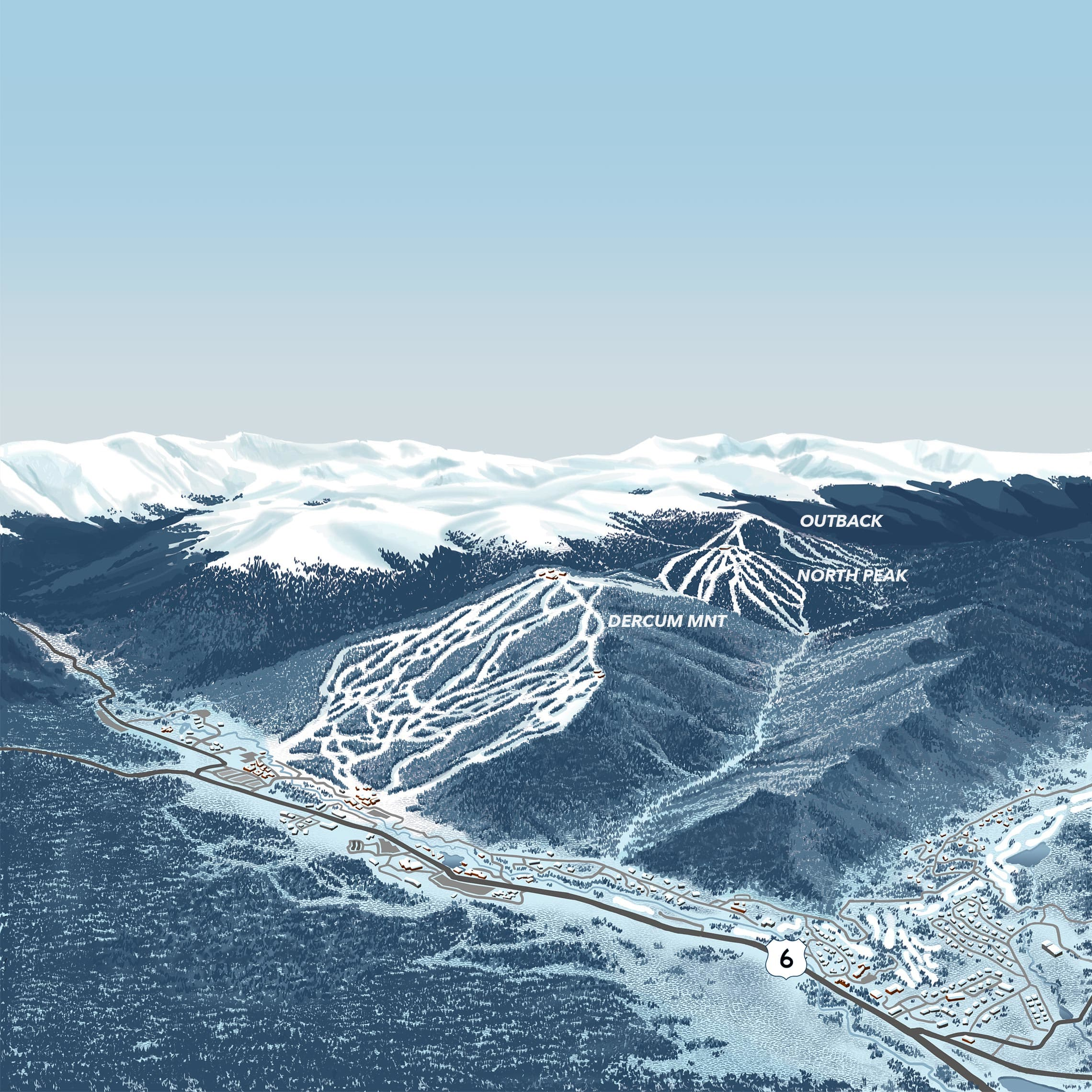 Keystone Resort Map Interactive Map | Keystone Ski Resort