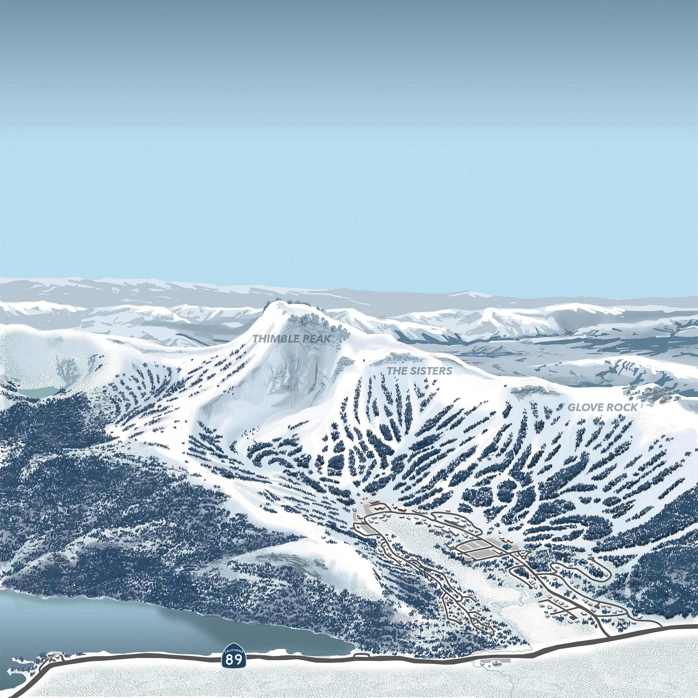 interactive map | kirkwood ski resort