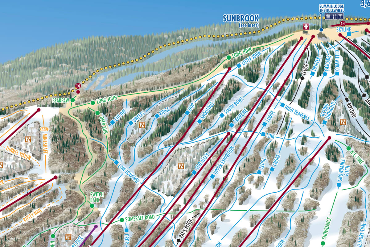 Park City Canyons Trail Map