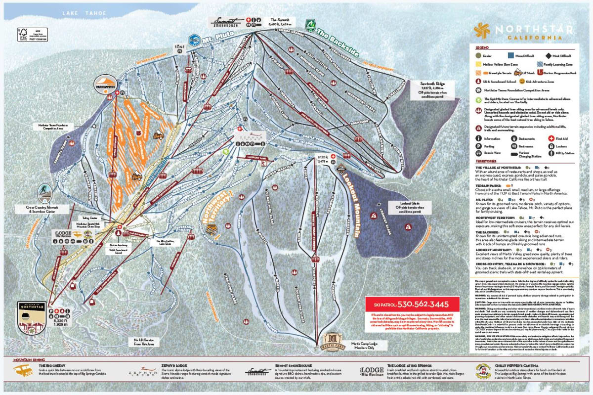 Trail Map | Northstar California Resort