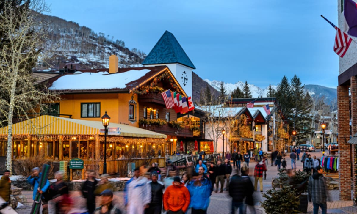 About The Villages Vail Ski Resort